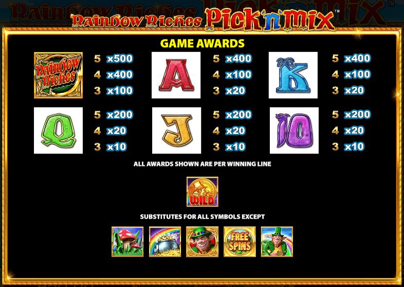 rainbow-riches-pick-'n'-mix-awards